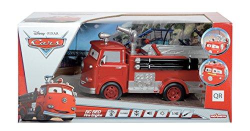Cars - Red Fire engine, coche radiocontrol, multicolor (Majorette 3089549)