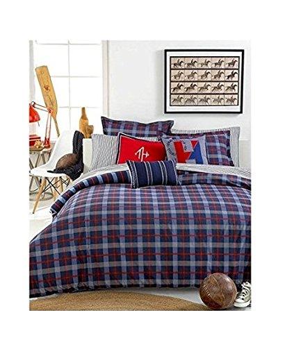 Tommy hilfiger boston plaid comforter set fullqueen coconuas229 for Tommy hilfiger bedroom furniture