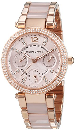 538d4b17b9db 12oclock.US. 125 subscribers. Subscribe · MK6110 Michael Kors Women s Mini  Parker Blush And Rose Watch