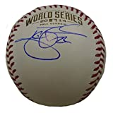 Jake Peavy Autographed / Signed 2014 World Series Rawlings Official Game Baseball, San Francisco Giants, SF, WS, Proof Photo