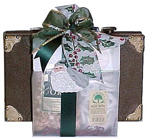 Holiday Traveler Gourmet Snack Tote