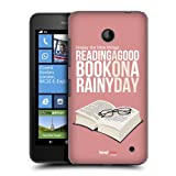 Head Case Designs Good Book Enjoy The Little Things Protective Snap-on Hard Back Case Cover for Nokia Lumia 630 Dual SIM 630 635
