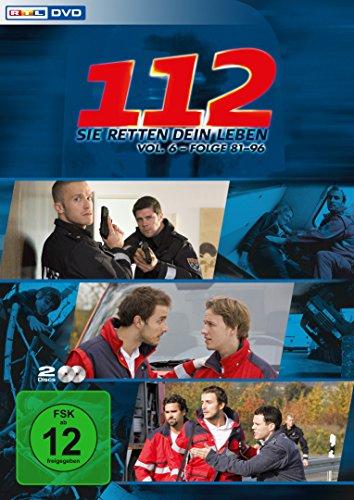 112 - Sie retten dein Leben, Vol. 6, Folge 81-96 [2 DVDs]