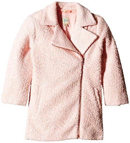 Yumi - Oversized Ovoid Coat, Cappotto per bambine e ragazze, rosa (pink), 11 anni