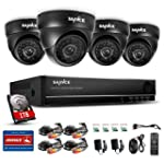 Sannce Security Camera System with 8C...