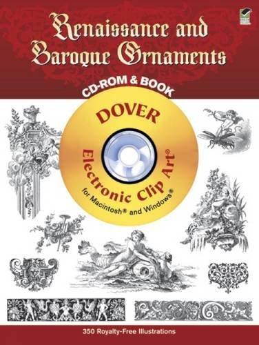 Renaissance and Baroque Ornaments (Dover Electronic Clip Art)