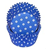 Oasis Supply Oasis Supply Polka Dot Baking Cups, Mini 100-Count,