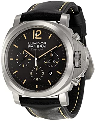 Panerai Men's PAM00356 Luminor Contemporary Chronograph Watch