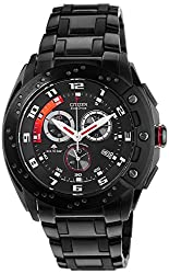 Citizen Eco-Drive Analog Black Dial Mens Watch AT0729-51E