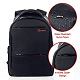 Laptop Backpack - Computer Bag Water Resistant Slim Lightweight Anti-theft Zipper Design Sports Gym Bag Travel Backpack Business Computer Bag Up to 15.6 inch for Men by Vitalismo