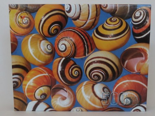 Merrigold Press Shells 500 Piece Jigsaw Puzzle