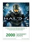 Xbox 360 - Live Points Card 2000 - im Design von Halo 4