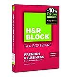 H&R Block 2015 Premium + Business Tax Software + Refund Bonus Offer - PC/Mac Disc