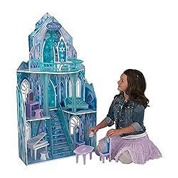 Kidkraft Disney Frozen Ice Castle Dollhouse, Multi Color