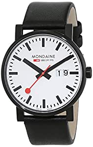 Mondaine Men's A627.30303.61SBB Evo Black and White
