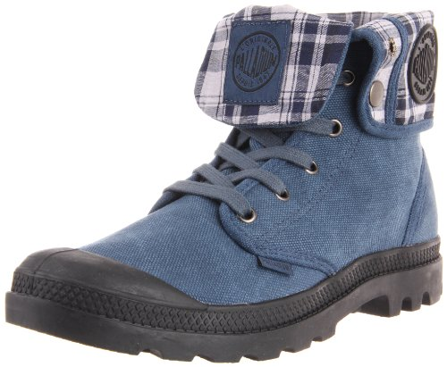 Palladium Men's Baggy Canvas Boot,Indigo/Black,11 M US