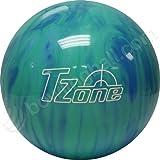 Brunswick TZone Caribbean Blue Bowling Ball (9-Pounds)