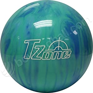 Click here to buy Brunswick TZone Caribbean Blue Bowling Ball by Brunswick.