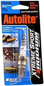 Autolite XS4164DP Xtreme Sport Iridium Powersports Spark Plug from nobrandname