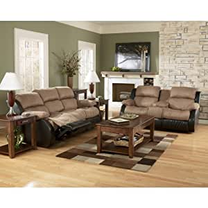Cocoa Reclining Sofa, Loveseat, and Recliner Set