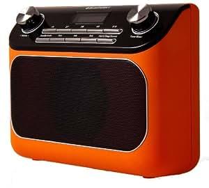 Blaupunkt RX+ 45 OR Digitales Uhrenradio orange