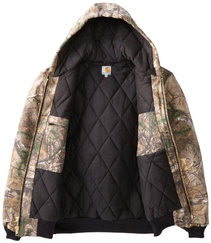 Carhartt Men 39 S Big Tall Quilted Flannel Lined Camo