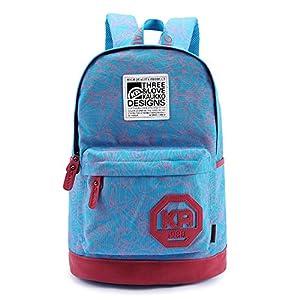 Femmes Filles / Garçons Hommes / Unisexe Sac Vintage Classic Backpack Voyage School occasionnel de toile sac à bandoulière pour ordinateur portable / ipad 3 / ipad d'air de mini / ipad (Blue)