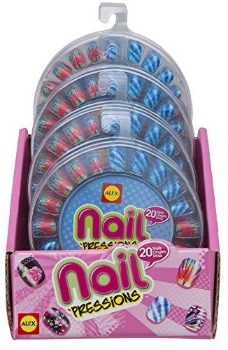 ALEX Toys Spa Nail `Pressions, 2 Dye 4