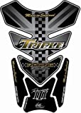 MOTOGRAFIX(モトグラフィックス) タンクパッド TRIUMPH DAYTONA 675 ブラック MT-TT013KS
