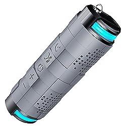 Offbeat - Out loud 10 Watt Waterproof Wireless portable Bluetooth Speaker,(Grey)