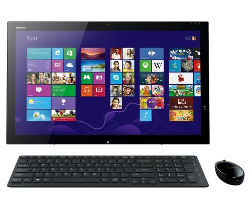 Sony VAIO SVT21215CXB Desktop Touchscreen (Black) – Intel Dual-Core i5-4200U 1.60GHz – 8GB RAM – 750GB HDD + 8GB Flash Hybrid – Bluetooth – Webcam – Windows 8 – 21.5-inch (1920×1080)