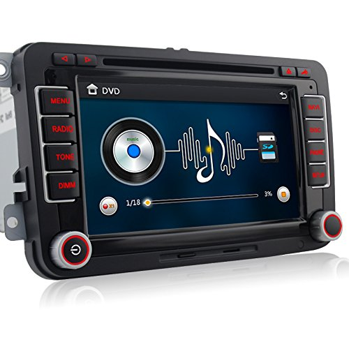 A-Sure-7-Zoll-2-Din-Bluetooth-FM-Full-3D-Map-3G-DAB-Autoradio-OBD-TMC-Navi-DVD-GPS-Radio-RDS-Fr-VW-Passat-Golf-5-6-Touran-Tiguan-Transporter-Multivan-T5-Polo-Jetta-Caddy-Skoda-Seat-Altea