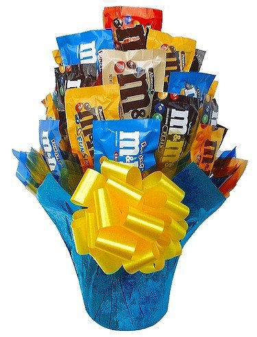 M&M medley candy gift bouquet – Large