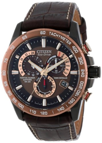 Citizen Men's AT4006-06X  Eco-Drive Perpetual Chrono A-T Atomic Clock Synchronization Watch