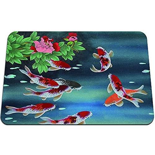 Koi fish mouse pad gaming mouse pad 8 6 x7 1 inches for Koi meaning in english
