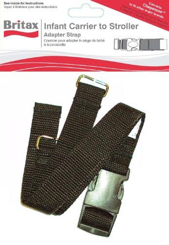 Britax Adapter Strap Kit, Black front-1041949
