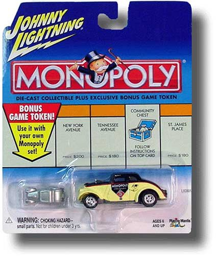 Buy Johnny Lightning 2001 Monopoly 1933 Vintage Willys Car