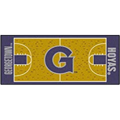 Buy FANMATS NCAA Georgetown University Hoyas Nylon Face Basketball Court Runner by Fanmats
