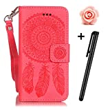 iPhone-SE-CaseiPhone-SE-Leather-CaseFlip-Wallet-case-for-iPhone-5STOYYM-3D-Colourful-Dreamcatcher-Premium-Pattern-PU-Leather-Wallet-Case-Cover-Pouch-Magnetic-Closure-with-Card-Slots-for-Apple-iPhone-S