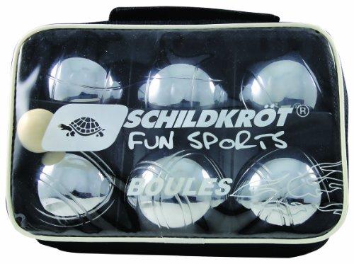 Schildkroet Funsports 970011 - Bolas, color plateado