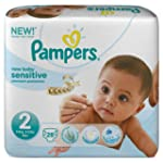 Pampers New Baby Sensitive 28 Couches...