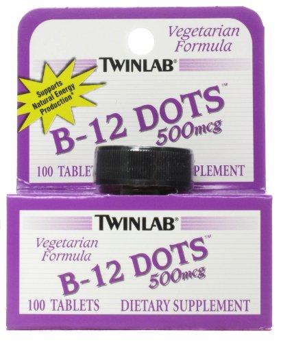 Twinlab B-12 Dots,500 Mcg, 100 Dot, Ea-1