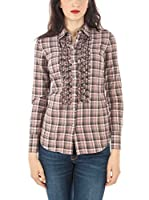 Fred Perry Camisa Mujer (Rosa)
