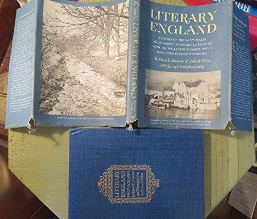 1944 LITERARY ENGLAND by DAVID SHERMAN & RICHARD WILCOX Hard Cover Book