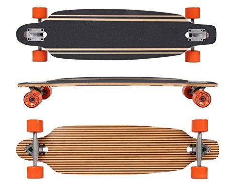 MAXOfit® Deluxe Longboard Safari No.57, Drop Through, 91,5 cm, 9 Schichten, ABEC11