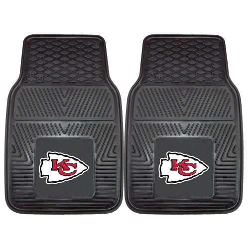 FANMATS NFL Kansas City Chiefs Vinyl Heavy Duty Car Mat (Kansas City Chief Car Mats compare prices)
