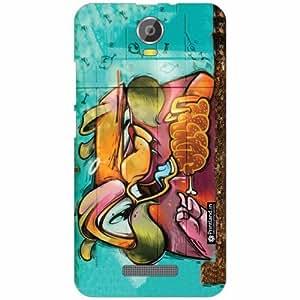 Micromax Canvas Juice 2 Back Cover - Silicon Glare Designer Cases