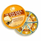 Sonoma Jacks Cheese Wdg Parm Ppprcrn 4 oz (Pack Of 12)