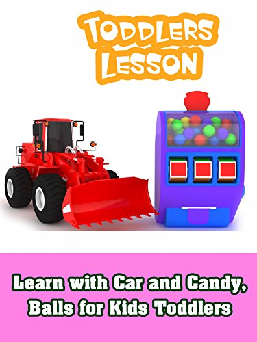 Learn with Car and Candy, Balls for Kids Toddlers