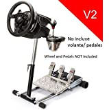 Deluxe Racing Steering Wheelstand for Thrustmaster T500RS Wheel, Original Wheel Stand Pro Stand V2. Wheel and Pedals Not included.